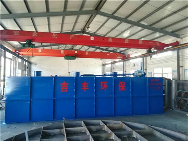 新建医院污水处理装置工艺流程说明