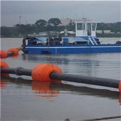 水上漂浮式套管道抽泥浮筒