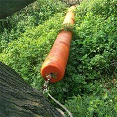 小河道围杂草水藻塑料浮筒