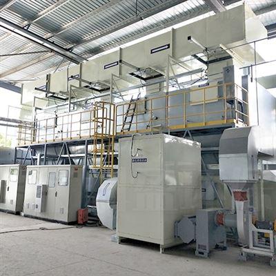 喷漆废气催化燃烧处理环保设备