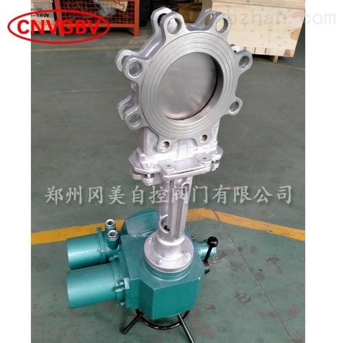 不锈钢电动刀型闸阀GMZ973W-10P/16P