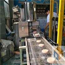 热销碎肉饼成型油炸机支持现场试机