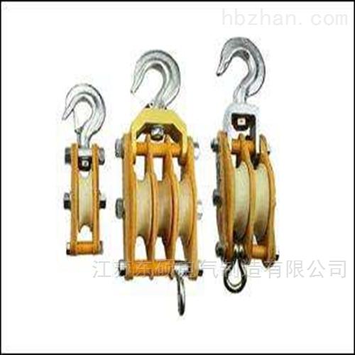 承装修试三四五级配置表-起重滑车型号