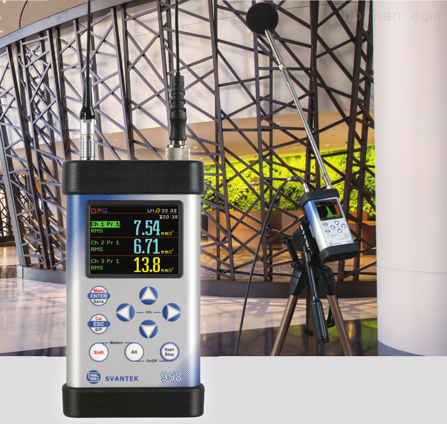 四通道声音与振动分析仪SVAN 958A