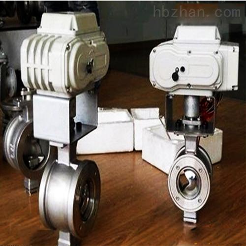 304不锈钢电动调节阀球阀