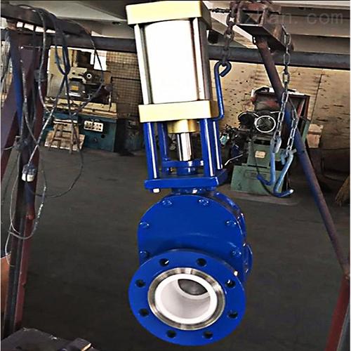 Z674TC气动陶瓷出料阀平衡阀