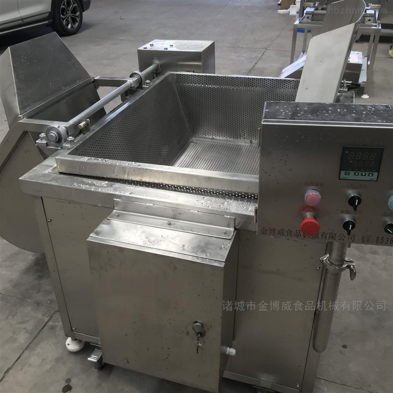 鱼豆腐油炸机装置