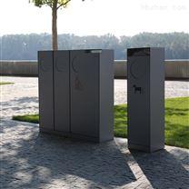 户外环卫金属分类垃圾桶