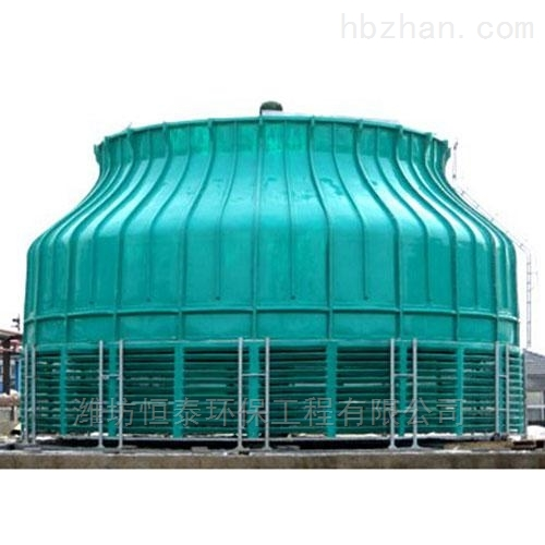圆形逆流式冷却塔的结构