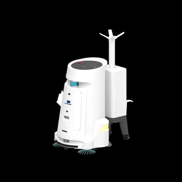 消毒清扫机器人,提供消杀清扫解决方案