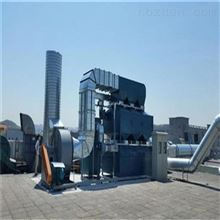 厂家蓝阳上海活性炭吸附脱附催化燃烧设备定制款