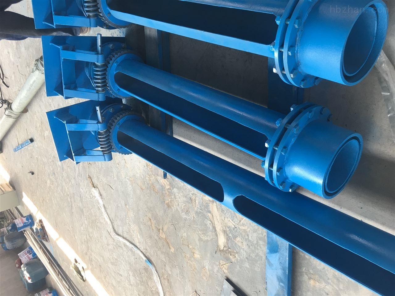 内蒙古赤峰电动旋转撇渣管隔油撇渣管源头生产厂家