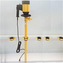 耐高溫電動抽油泵HD-E2-V+PVDF耐酸堿電動插桶泵