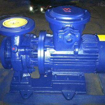 ISWB型卧式防爆离心油泵