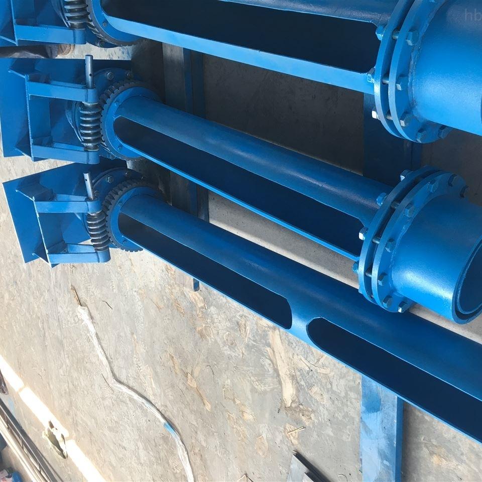 内蒙古赤峰电动旋转隔油撇渣管源头生产厂家