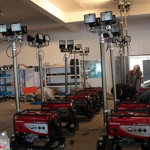 抗洪抢险应急车360度旋转移动泛光照明灯
