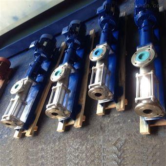 上海G型单螺杆泵