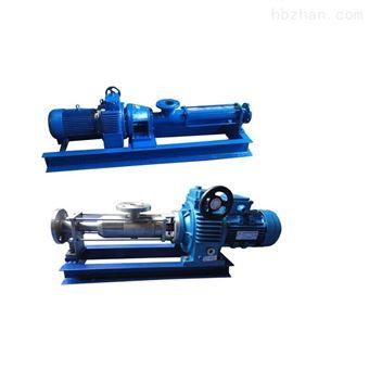 G型压滤机螺杆泵-污泥螺杆泵