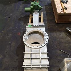 SCZ973TC电动不锈钢穿透式刀闸阀