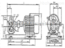 企业制造ZYB渣油泵安装尺寸/渣油泵ZYB-83.3*