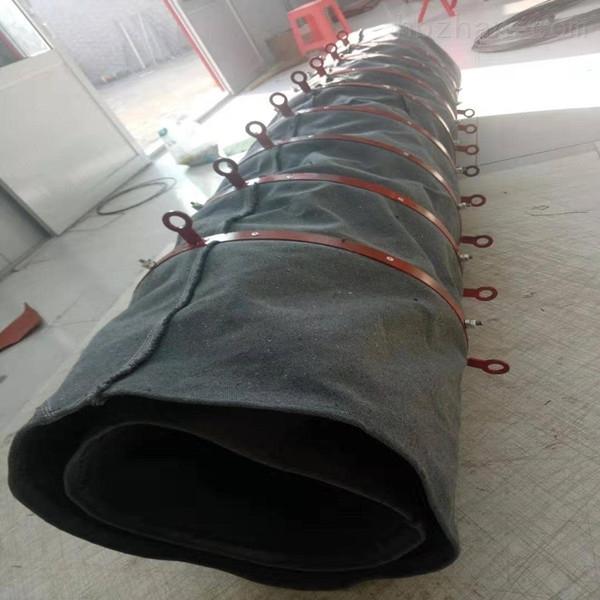 散装机卸料帆布输送伸缩布袋