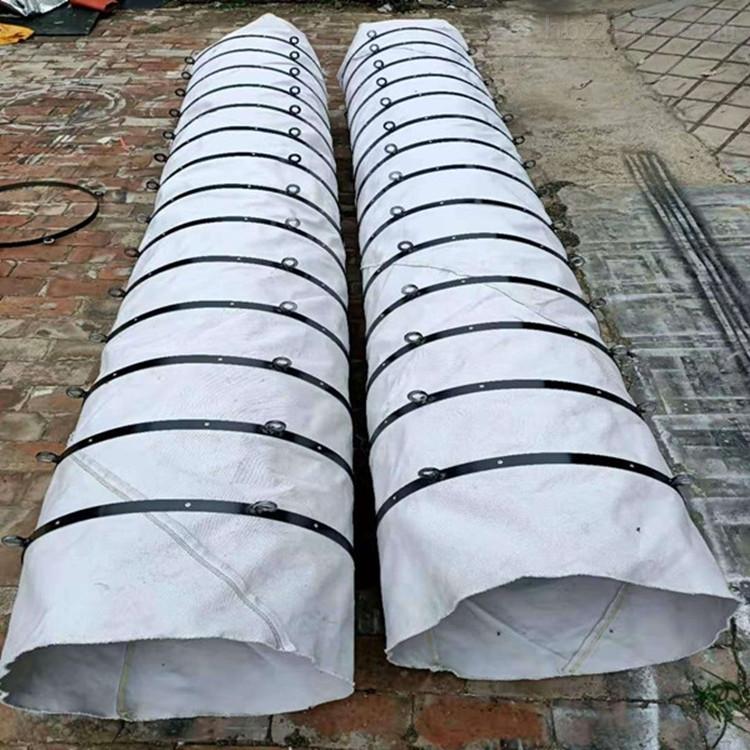 耐磨损加厚帆布卸料收尘伸缩布袋