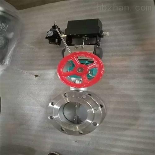 带定位器气动调节型蝶阀