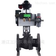 ZHSO-16K气动O型切断球阀