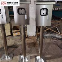 南京纳新订做不锈钢立柱柜/防雨柜