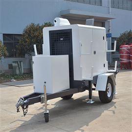 城市防汛移动电源排水泵车