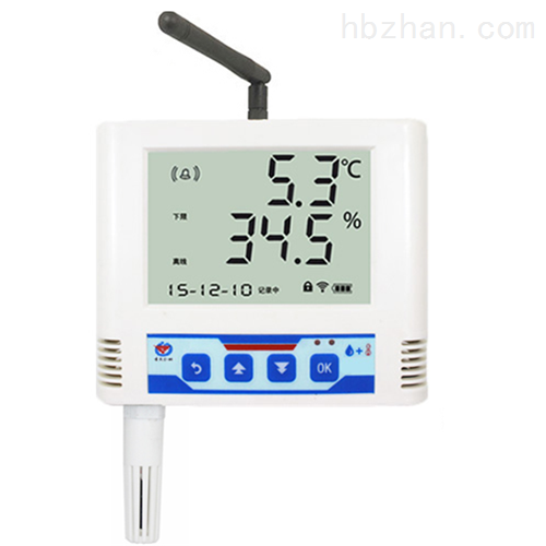 无线温湿度变送记录仪 外接电源