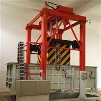 自贡-四柱整体提升垂直垃圾压缩机中转站