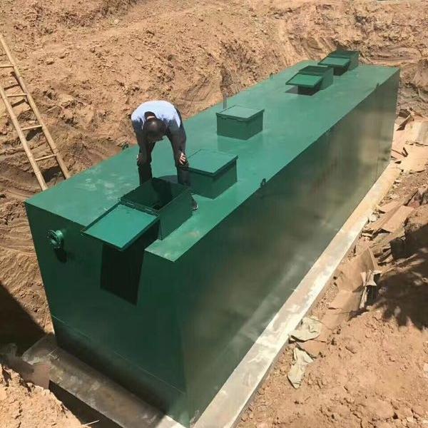四川资阳一体化污水处理设备