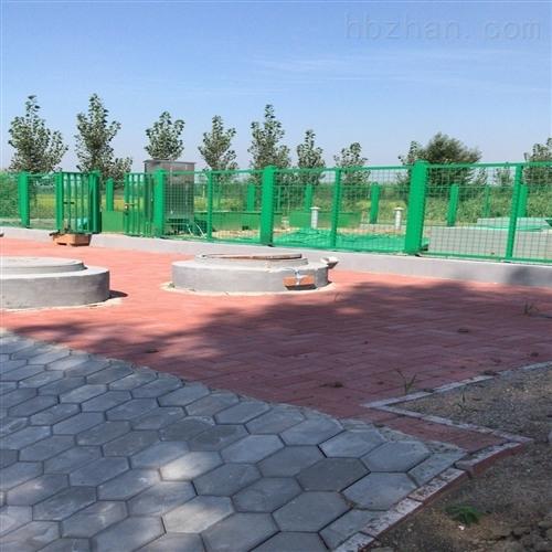 天津众迈100吨屠宰场一体化污水处理设备