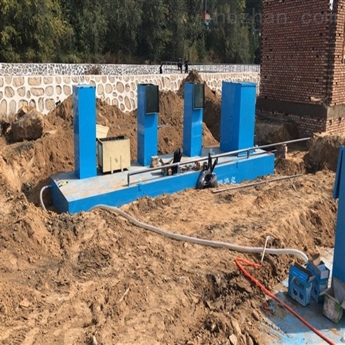 100吨洗浴污水一体化处理设备