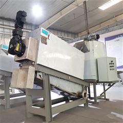 301食品厂叠螺式污泥脱水机 污泥压滤机叠螺机