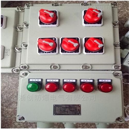 电机现场防爆动力配电箱