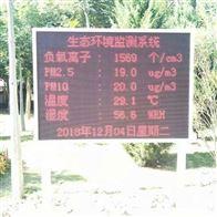 贵州旅游景环境区负氧离子监测系统