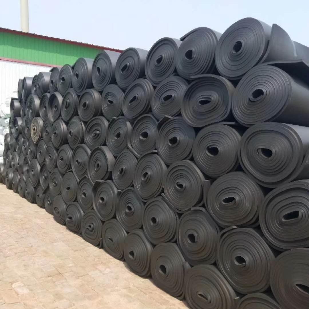 卷板、管价格低质量好阻燃橡塑保温棉生产厂家