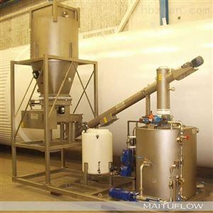 HT全自动石灰乳投加装置石灰料仓