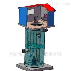 ht-594黄山市玻璃钢提升泵站