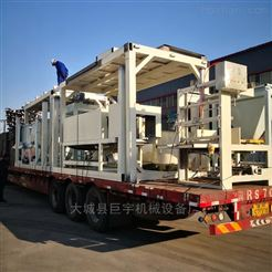 全自動模箱水泥基勻質保溫板生產設備