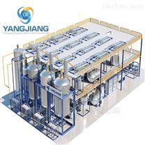 廢礦物油再生循環使用真空蒸餾設備