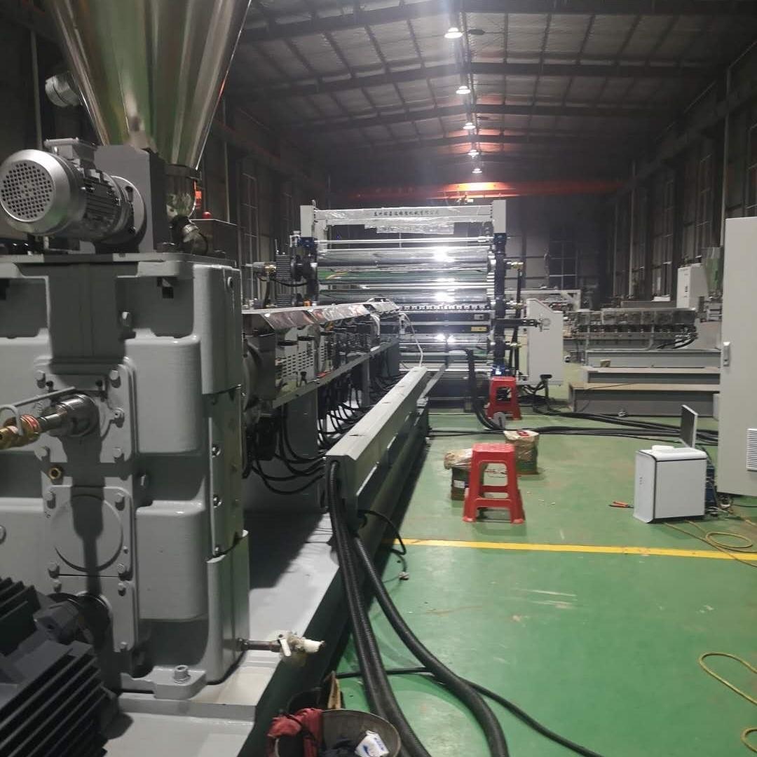 PMMA/GPPS镀镜片、板挤出生产线