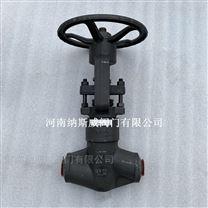 J61Y-3500LB锻钢焊接截止阀