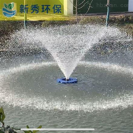喷泉曝气机的安装方法