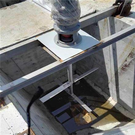 斜叶桨式搅拌器厂家