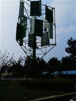 小型微风发电筒塔