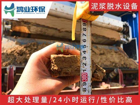 花岗岩泥浆压干设备 石场泥浆榨泥机 制沙污
