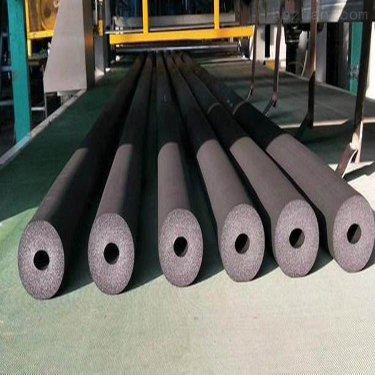 厂家供应复合铝箔自粘防火阻燃橡塑海绵管